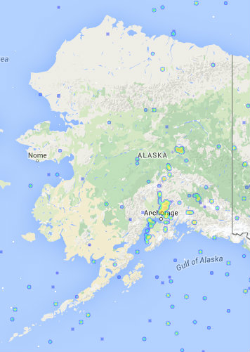 Alaska LTE coverage map
