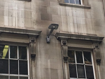 City of London Wall Streetlamp