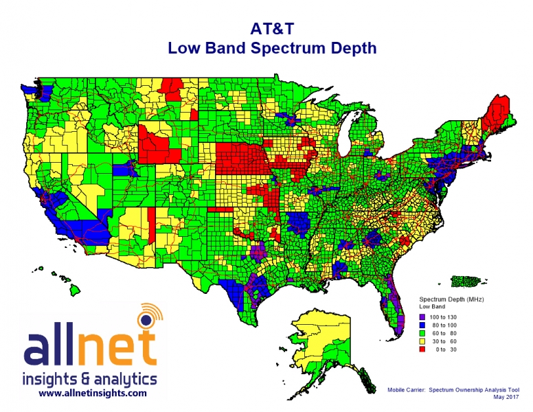 US Low Band Spectrum ATT