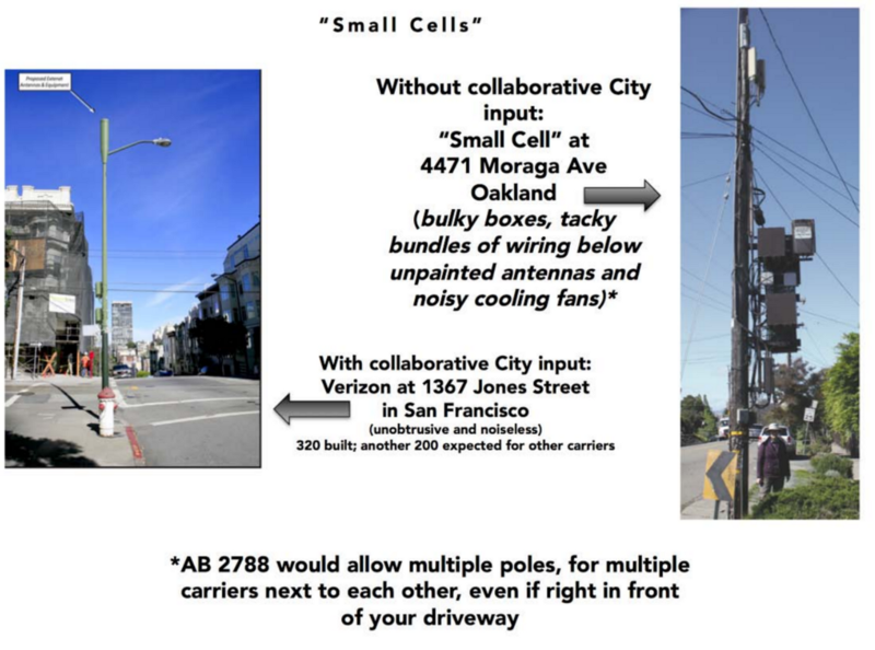 good vs bad urban small cell